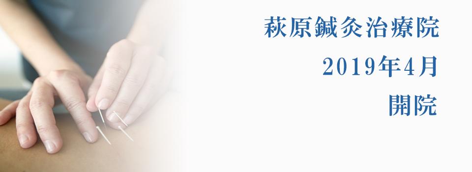 萩原鍼灸治療院-兵庫県三田市相生町(三田本町駅徒歩1分)の鍼灸院(はり・きゅう)